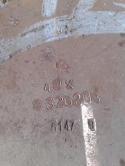 Лист конструкционный стальной 40Х,  доставка и резка по чертежу