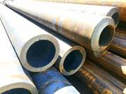 труба бесшовная стальная,  горячекатаная сталь 09г2с,  толстостенная сталь 20